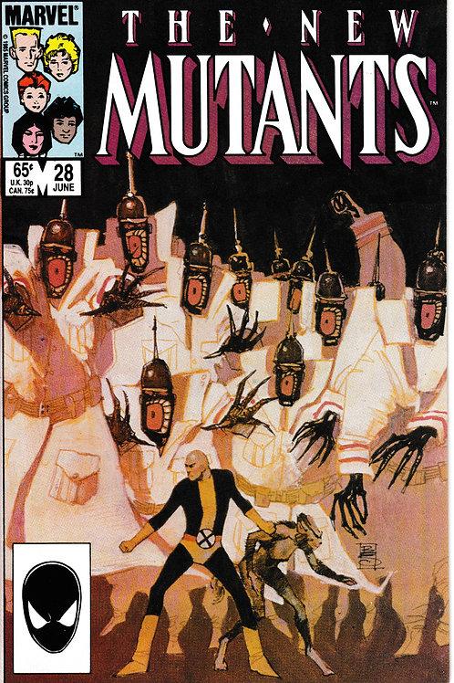 NEW MUTANTS 28 Marvel Jun 85 N/M- Claremont Sienkiewicz