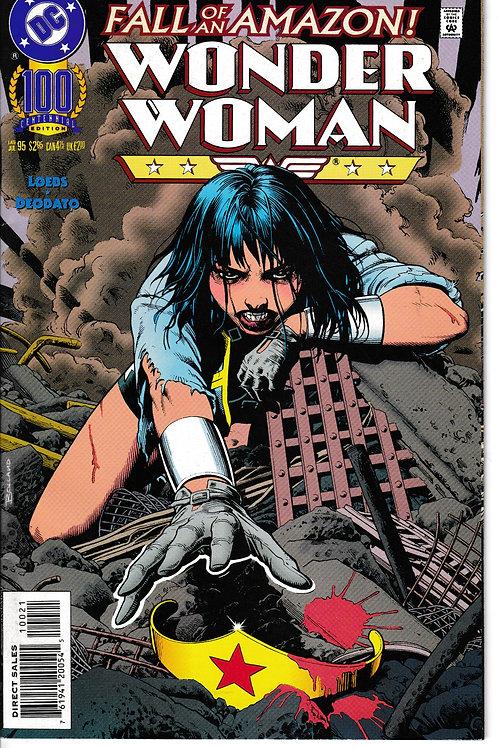 WONDER WOMAN 100 Jul 95 DC 2nd Series Centennial Edition