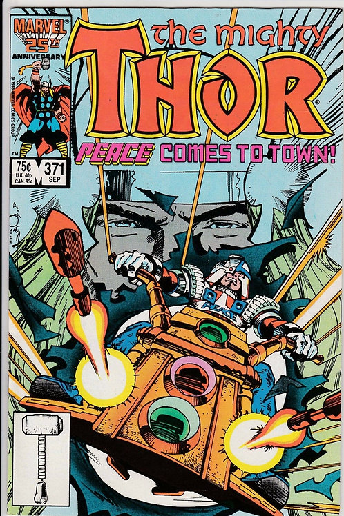 THOR 371 Sept 86 Walt Simonson Writer
