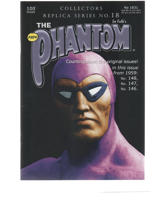 PHANTOM 1831 Collectors Replica Series 18 146 147 148