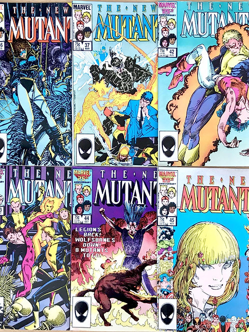 NEW MUTANTS 1980's CHOOSE ONE 36 37 42 43 44 45 Or More