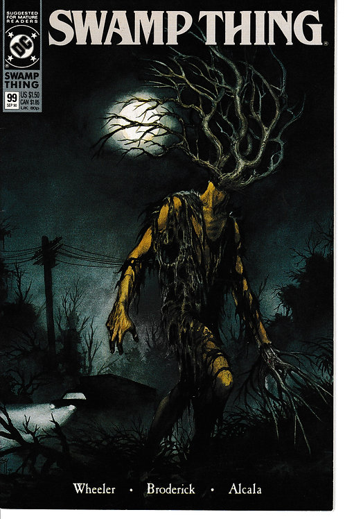 SWAMP THING 99 DC Sept 90 John Constantine