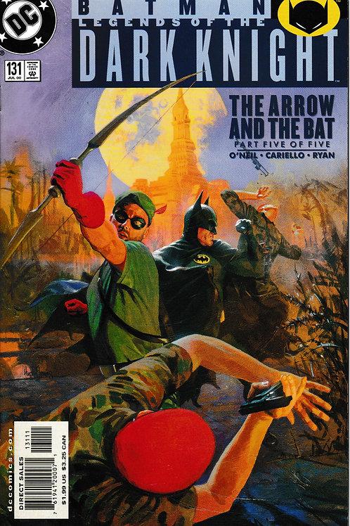 BATMAN LEGENDS OF THE DARK KNIGHT 131 DC Jul 00 Green Arrow