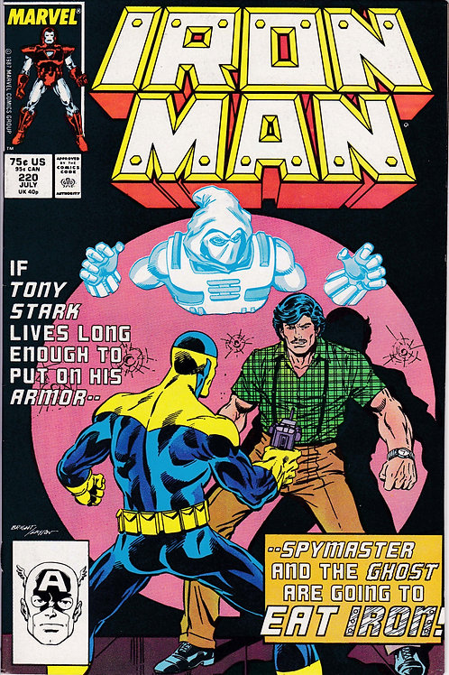 Iron Man 220 Spymaster & Ghost Appearance