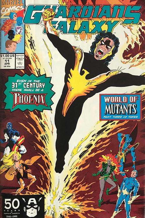GUARDIANS OF THE GALAXY 11 Marvel Vol 1 Apr 91 World of Mutants Pt 3