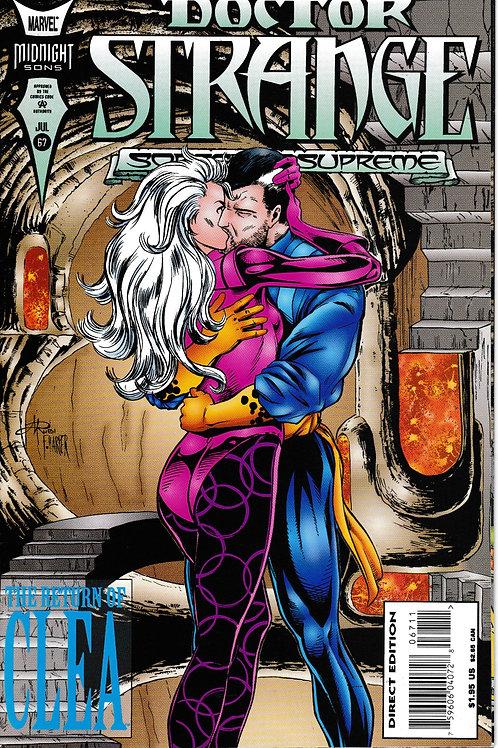 DOCTOR STRANGE SORCERER SUPREME 67 Marvel Jul 94 Heart of Saturday Night