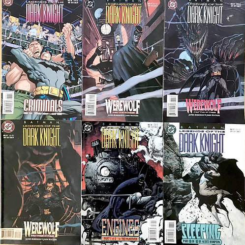 BATMAN LEGENDS OF THE DARK KNIGHT CHOOSE ONE or more 70 71 72 73 74 77