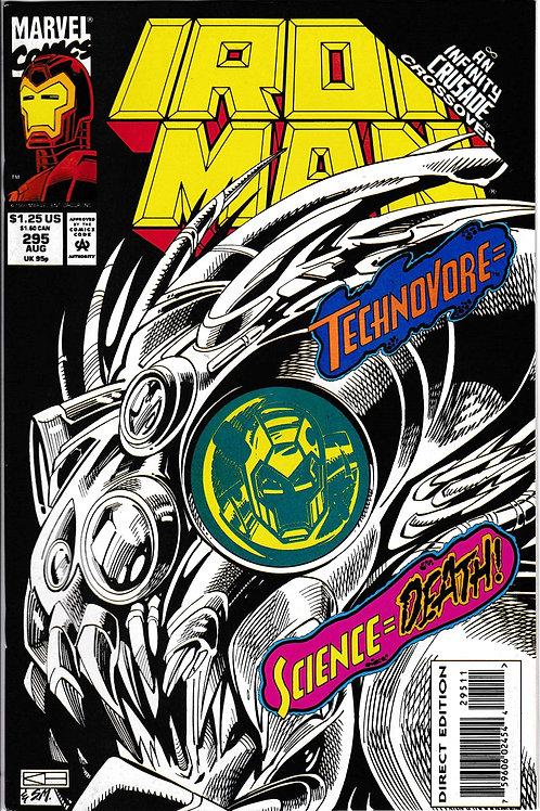 Iron Man 295 Infinity Crusade Crossover