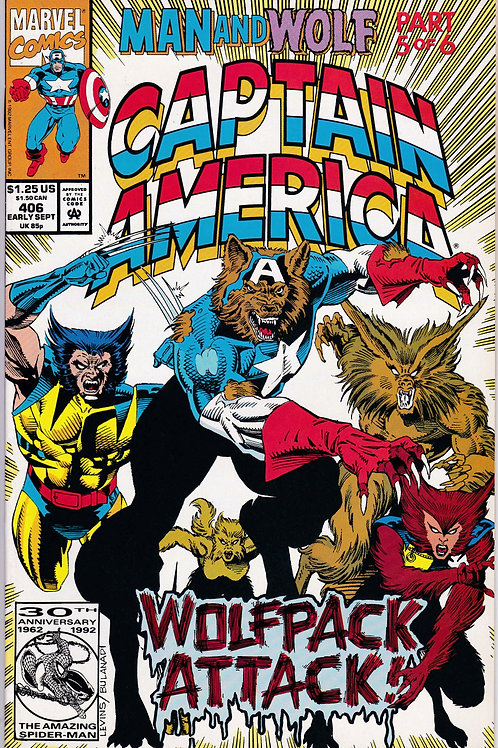 Captain America 406 Man & Wolf Pt 5 of 6