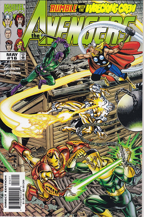 AVENGERS 16 Vol 3 May 99  Guest-stars Photon and the Black Knight