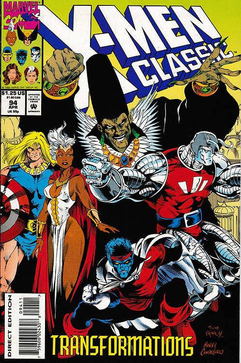 X-Men Classic 94 Apr 94 Chris Claremont An Age Undreamed Of