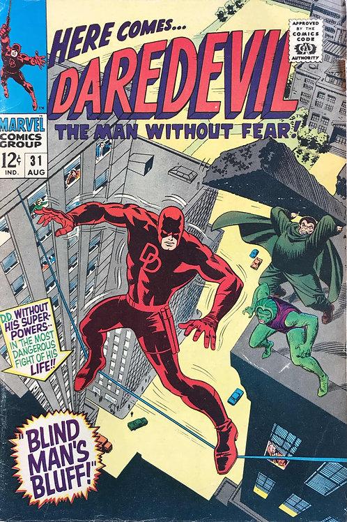 DAREDEVIL 31 Aug 67 Daredevil Vs Cobra & Mr Hyde