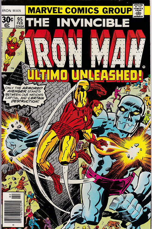 Iron Man 95 Ultimo Appearance