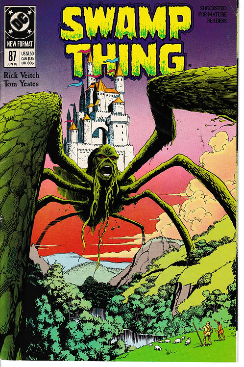SWAMP THING 87 DC Jun 89 Meets Demon