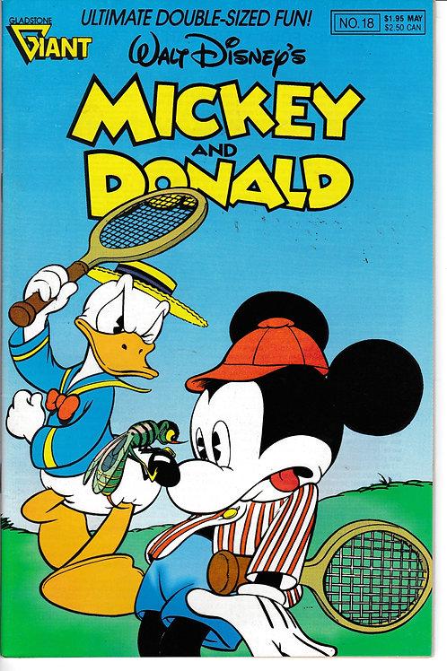 WALT DISNEY'S MICKEY & DONALD 18 Watching the Watchman Carl Barks