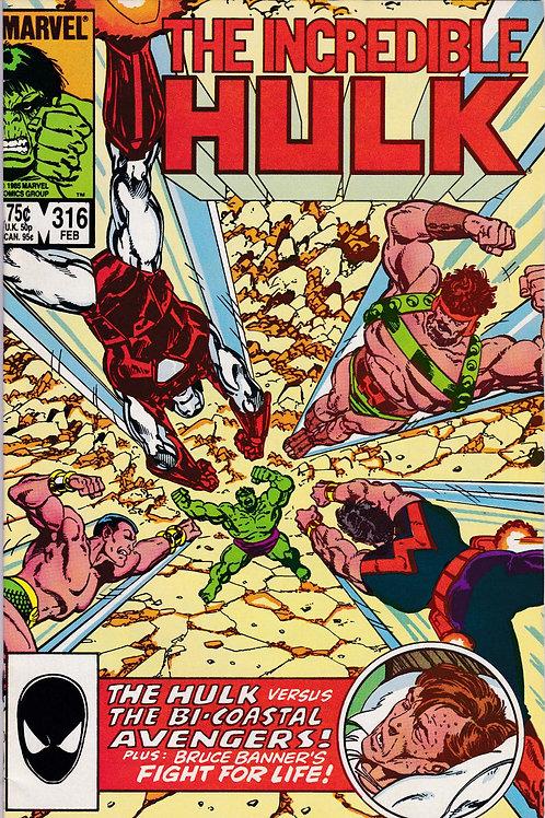 Incredible Hulk 316