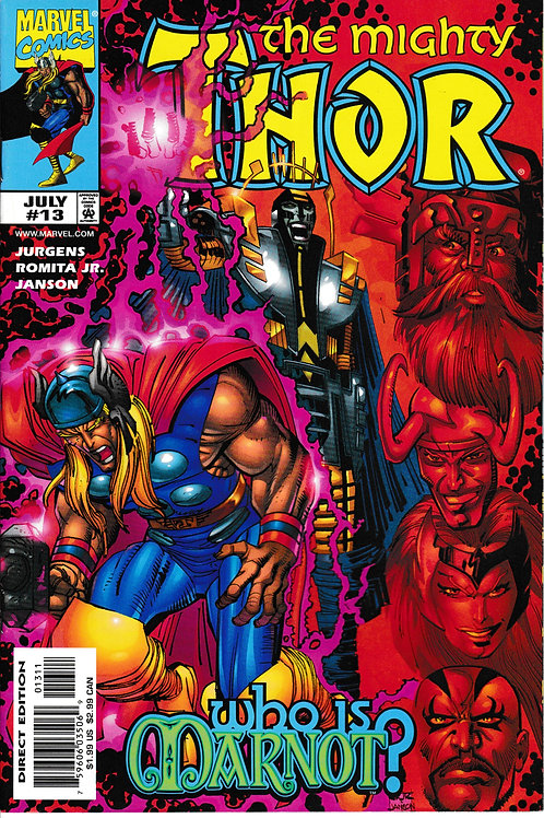 THOR 13 Vol 2 Marvel Jul 99 Hercules cameo