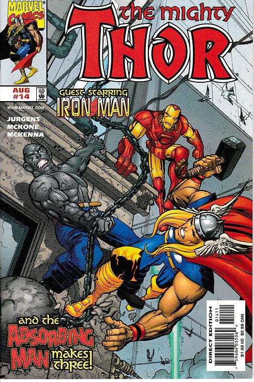 THOR 14 Vol 2 Marvel Aug Guest Stars Iron Man