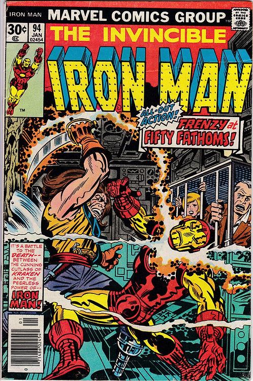 Iron Man 94 Kraken Kidnaps Iron Man's Friends