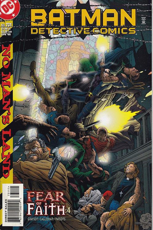 DETECTIVE 731 DC Apr 99 No Man's Land Part 9