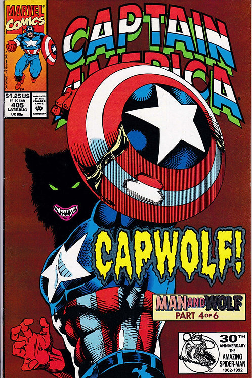 Captain America 405 Man & Wolf Pt 4 of 6