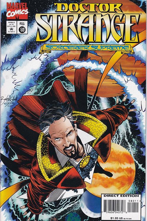 DOCTOR STRANGE SORCERER SUPREME 80 Marvel Aug 95  Doc gets a new look.