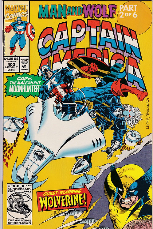 Captain America 403 Man & Wolf Pt 2 of 6