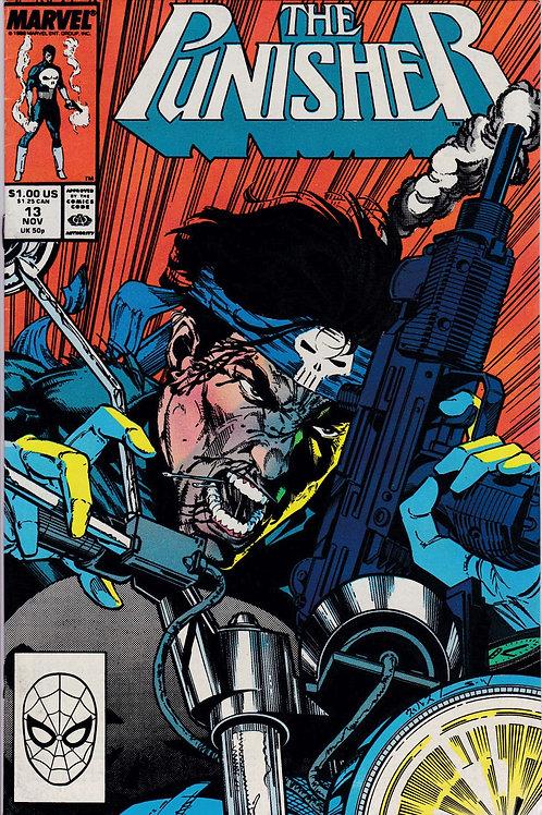 PUNISHER 13 Vol 2 Nov 88 Marvel