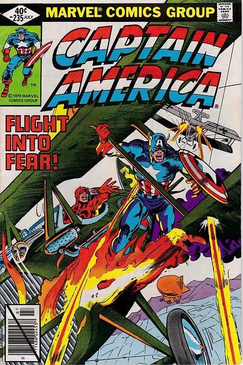 Captain America 235 Daredevil X-Over