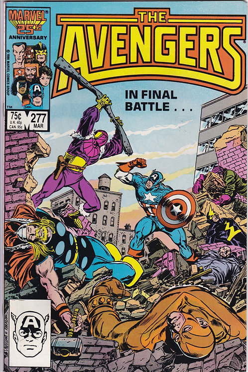 AVENGERS 277 Marvel Vol 1 Mar 87 VF N/M Never Read NOS Guest Stars Ant Man