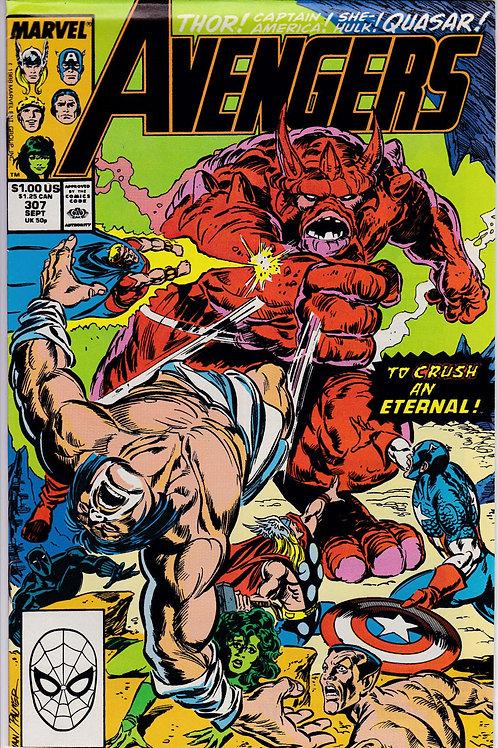 AVENGERS 307 Marvel Vol 1 Sept 89 John Byrne Script