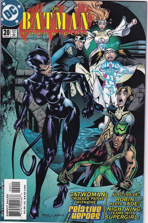 BATMAN CHRONICLES 20 DC Spring 00 N/M- Catwoman & Relative Heroes