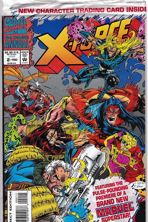 X Force Annual 2 Polybagged with Extreme Card