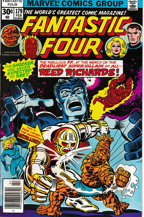 FANTASTIC FOUR 179 Feb 77 Marvel Vol 1 Fine Impossible Man Tigra & Thundra App