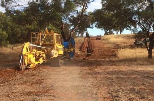 Vermeer Fibre Plough