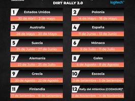 Temporada 2021: primer Campeonato Rally virtual