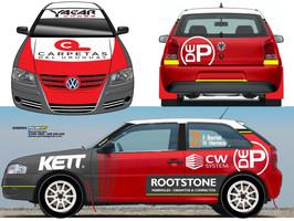 Temporada 2021: listo para el estreno VW Gol de Berriel