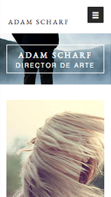Viajes y Documentales website templates – Portafolio de director de arte