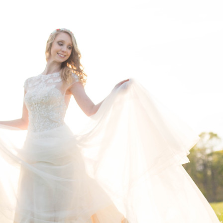 Meghan Bridal Portraits @ E. Carroll Joyner Park - Wake Forest, NC