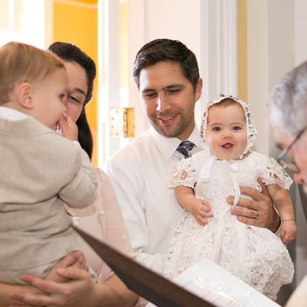 Seiler Baptism @ St. Michael Catholic Church - Cary, North Carolina