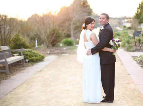 Suzanne + Kyle Wedding @ J.C. Raulston Arboretum - Raleigh, NC