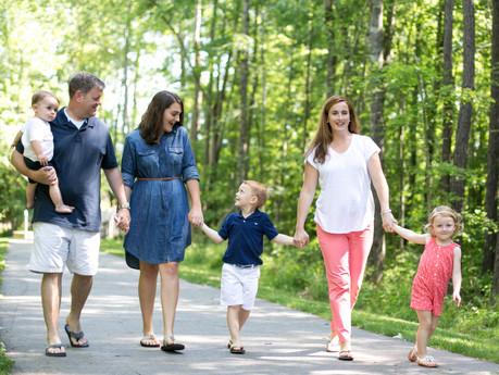 Douglass Family @ Apex Nature Park - Apex, North Carolina