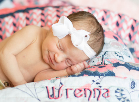 Wrenna Newborn @ Pinehurst, North Carolina