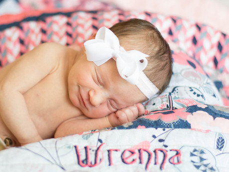 Wrenna Newborn @ Pinehurst, North Carolina