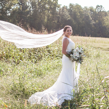 Kaitlin Bridal Portraits @ The Meadows Raleigh, North Carolina