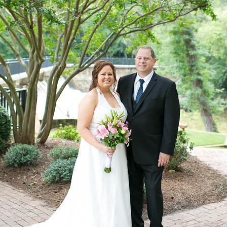 Karen + Rob Wedding @ Sunset Lake Lodge - Holly Springs, NC