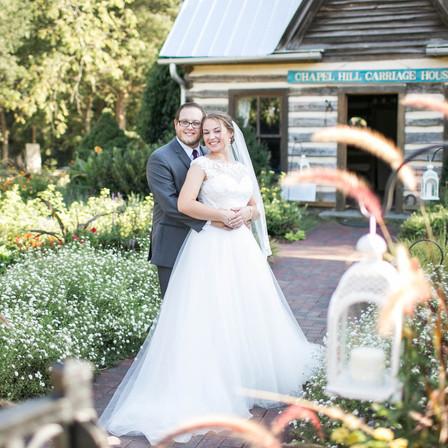 Morgan + Dylan Wedding @ Chapel Hill Carriage House - Chapel Hill, NC