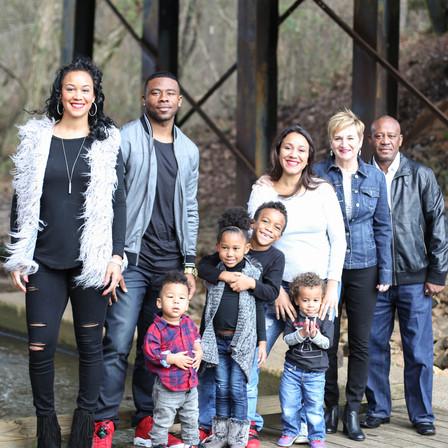 Draughn Family @ Historic Yates Mill Park - Raleigh, North Carolina