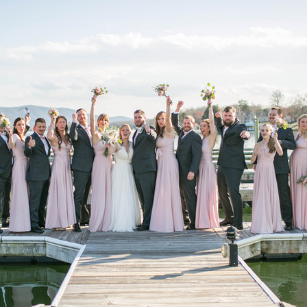 Alex + David Wedding @ Mariner's Landing at Smith Mountain Lake, Virginia