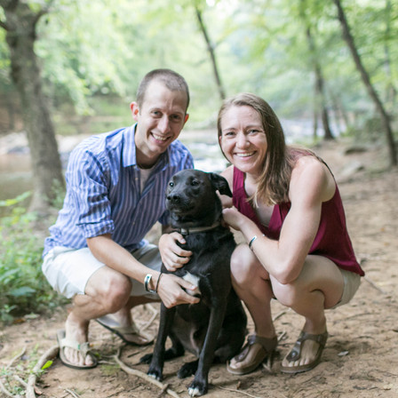 Amy + Gray Engagement @ Eno River State Park - Durham, NC